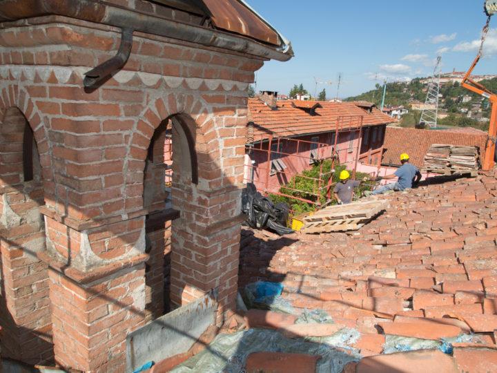 21 Ottobre: i lavori al tetto
